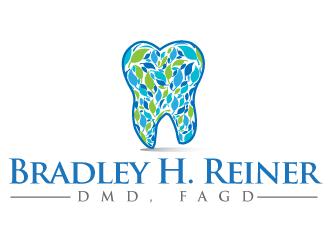 Bradley H. Reiner, DMD, FAGD logo design