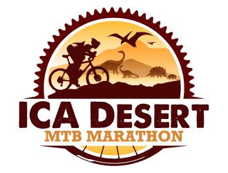 ICA Desert MTB Marathon logo design