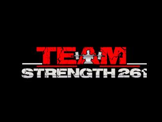 Team Strength 261 logo design