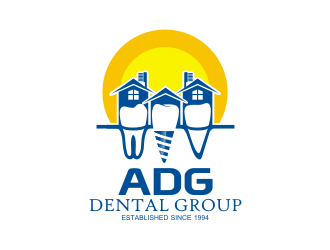 ADG Dental Group logo design
