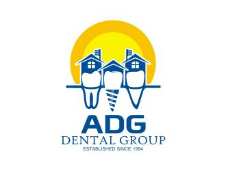 ADG Dental Group logo design