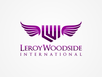 Leroy Woodside International logo design