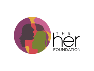 The HER Foundation logo design