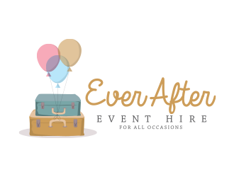 Ever After Event Hire logo design