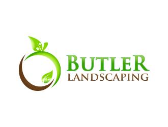 Butler Landscaping logo design
