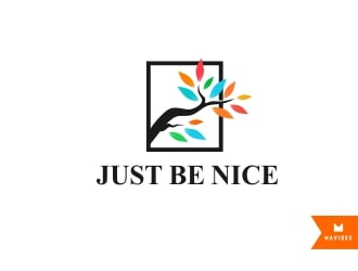 Just Be Nice logo design