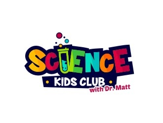 Science Kids Club with Dr. Matt logo design