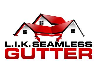 L I K Seamless Gutter Logo Design 48hourslogo Com