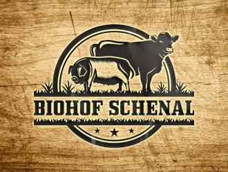 Biohof Schenal logo design