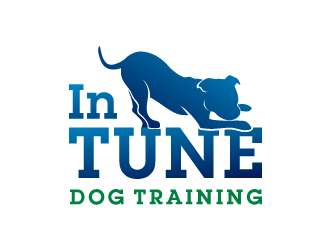In Tune Dog Training Logo Design
