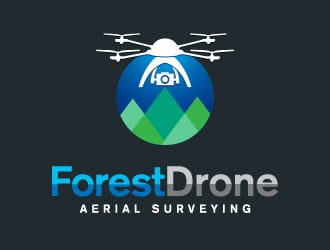 ForestDrone logo design