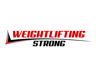 Weightlifting Strong logo design