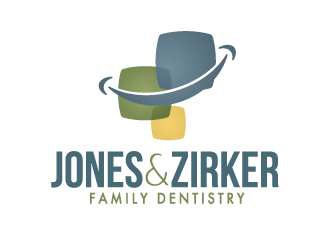 Jones & Zirker Family Dentistry logo design