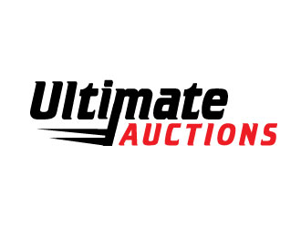 Ultimate Auctions logo design