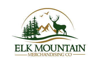 Elk Mountain Merchandising Co. logo design