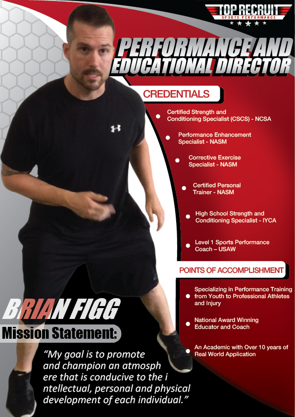 youth sports performance speaking engagement flyer print