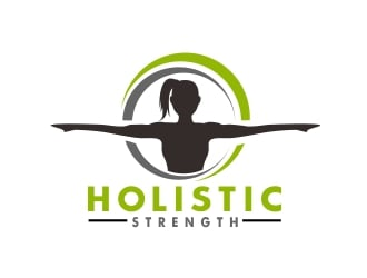 Holistic Strength logo design