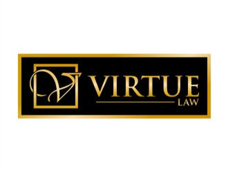 VIRTUE LAW logo design