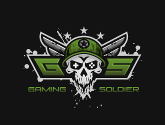 Gaming Soldier logo design