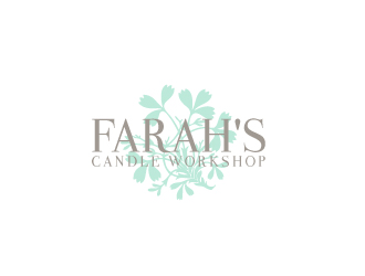 Farah's Candle Workshop logo design