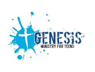 Genesis Ministry for Teens logo design