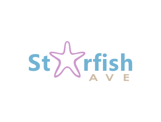 Starfish Ave (Ave can be smaller because I will refer to company as Starfish) logo design