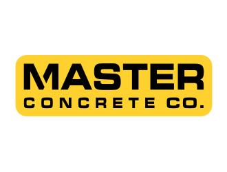 Logo + Master Concrete + Construction logo design - 48HoursLogo.com