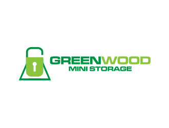 Greenwood Mini Storage Logo Design Concepts 63