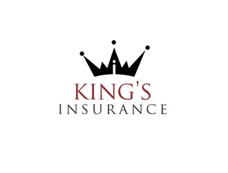 King's Insurance logo design