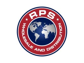 RPS DISTRIBUTION logo design