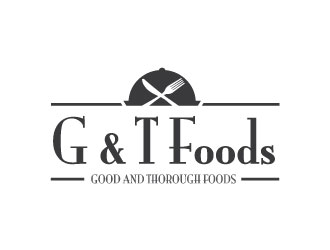 G & T Foods logo design