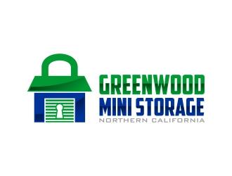 Greenwood Mini Storage Logo Design Concepts 79