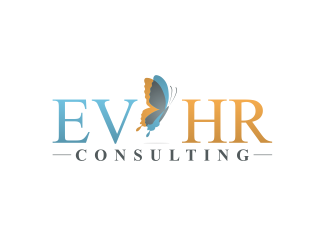 EV HR Consulting logo design