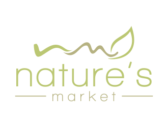 Nature's Market logo design