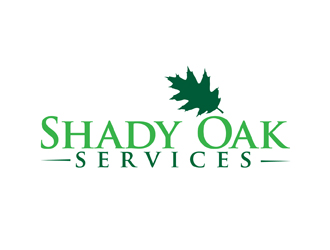 Shady Oak Services logo design