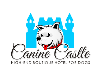 Canine Castle logo design