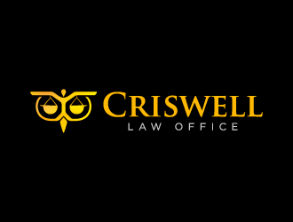 Criswell Law Office logo design