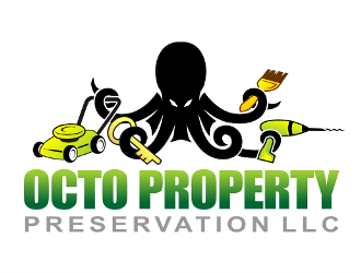 Octo Property Preservation LLC logo design