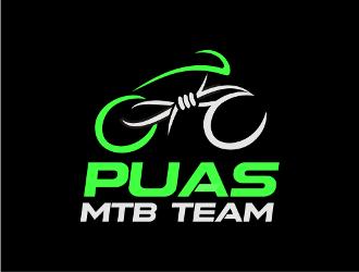 PUAS MTB TEAM logo design
