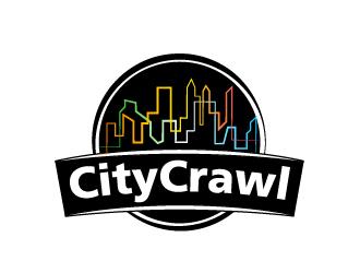 CityCrawl logo design