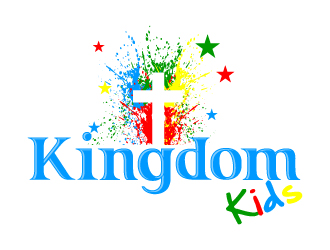 Kingdom Kids logo design - 48HoursLogo.com
