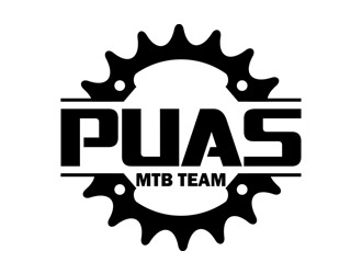 puas mtb team logo design 48hourslogocom