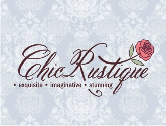 CHIC RUSTIQUE exquisite  -  imaginative  -  stunning logo design