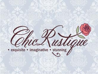 CHIC RUSTIQUE exquisite  -  imaginative  -  stunning logo design