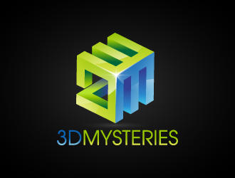 3D Mysteries logo design