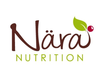 Nära Nutrition logo design
