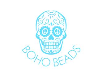 Boho Beads logo design