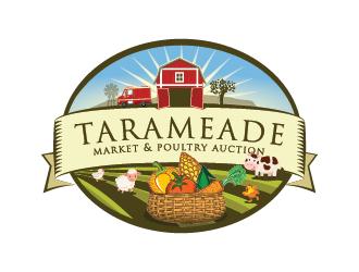 Tarameade Farmer's Market logo design