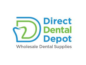 Direct Dental Depot .com Wholesale Dental Supplies logo design