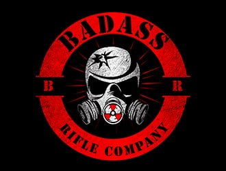 Badass Rifle Company logo design
